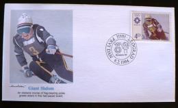 YOUGOSLAVIE, Jeux Olympiques, Sarajevo 84, Slalom Geant, FDC 08/02/1984 - Hiver 1984: Sarajevo