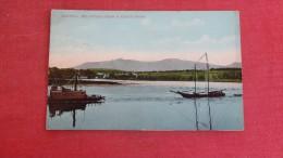 - New York> Catskills  Mountains From Hudson River -ref   1918 - Catskills