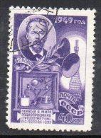 W3032 - RUSSIA 1949 , 40 K N. 1334 Usato - 1923-1991 URSS