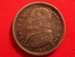 Vatican - 10 Soldi 1868 R - Type XXIII 2728 - Vatican