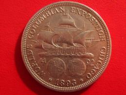Etats-Unis - Commemorative - Columbian Half Dollar 1893 2726 - Émissions Fédérales