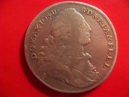 Allemagne - Bavière - Thaler Patrona Bavariae 1772 - Argent 2720 - Taler Et Doppeltaler