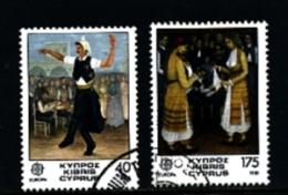 CYPRUS - 1981  EUROPA SET FINE USED - Chypre (République)