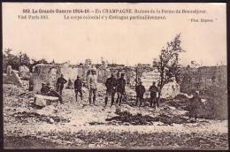 En Champagne - Ruines De La Ferme De Beauséjour - France