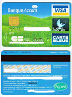 France - Credit Card VISA - Banque Accord - Cartes De Crédit (expiration Min. 10 Ans)