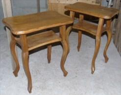 """2 petites tablettes en bois - Fabrication """"maison"""" vraisemblablement moiti� 20� si�cle - Bel ouvrage - TBE"""