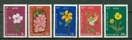 Ethiopia 1965 Yv 440/44** MNH - Ethiopie