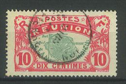 """VEND TIMBRE DE LA REUNION N° 60 , CACHET """" SAINT - PIERRE """" !!!! - Reunion Island (1852-1975)"""