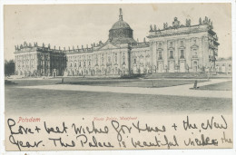 Pottsdam, Neues Palais, Westfront - Potsdam