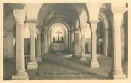 NIVELLES - Collégiale Ste Gertrude - La Crypte Romane à Trois Nefs, Sous Le Choeur Oriental XIe S. - Nivelles
