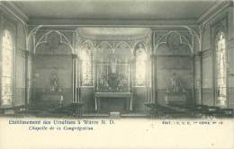 WAVRE - Etablissement Des Ursulines - Chapelle De La Congrégation - Waver