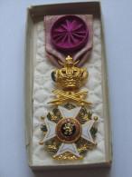 Décoration - Officier De L´ordre De LEOPOLD    ***** EN ACHAT IMMEDIAT **** - Belgique