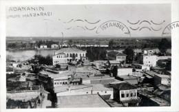 TÜRKIYE - ADANANIN, Umumi Manzarasi, Fotokarte Gel.1935, 3 Fach Frankiert - Türkei