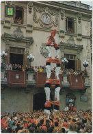 Gf. VILLAFRANCA DEL PENEDES. Els Castellers. 5436 (tour Humaine) (2) - Barcelona