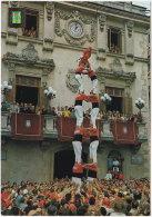 Gf. VILLAFRANCA DEL PENEDES. Els Castellers. 5436 (tour Humaine) (1) - Barcelona