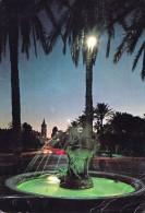Libya Libye - Tripoli - The Gazzelle Fountain - Mailed 1976 - Libia