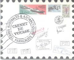 Carnet De Voyage De 1999 Avec Les Timbres N°248 à 259 -Terres Australes Et Antartiques Française- - Booklets