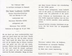 Ludovic Ulrix (1904-1984) - Images Religieuses