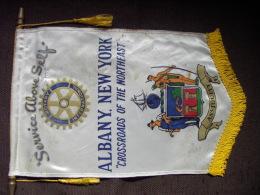 Banner:    ALBANY.  NEW YORK.   (U.S.A).  -   ROTARY  INTERNATIONAL. - Organizations