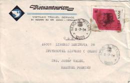 MCOVERS-7-35 LETTER FROM VIETNAM TO LIBEREC,CZECH REP. - Vietnam