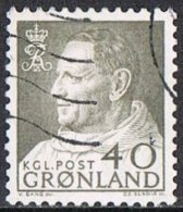 Greenland SG56 1964 Definitive 40ö Good/fine Used - Greenland