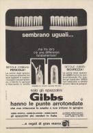 # SPAZZOLINO GIBBS SOUPLE 1960s Advert Pubblicità Publicitè Reklame Toothbrush Zahnburst Oral Dental Healthcare - Attrezzature Mediche E Dentistiche