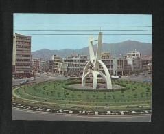 Korea Picture Postcard Tower Of Seo Myeon Rotary Busan View Card - Korea, North