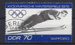 Germany  (DDR) 1971  Olympische Winterspiele 1972 Sapporo  (o) Mi.1730 - [6] République Démocratique