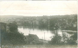 1900s Canada Bridgewater Nova Scotia Town And River View RP Unused - Nova Scotia