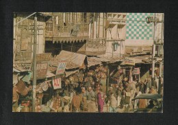 Pakistan Picture Postcard Busy Commercial Centre Peshawar View Card - Pakistan