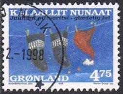 Greenland SG345 1998 Christmas 4k.75 Good/fine Used - Greenland