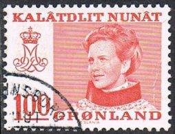 Greenland SG88a 1977 Definitive 100ö Good/fine Used [10/25979/6D] - Greenland