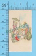 Petites Image Pieuse ( KGO Serie 12/12  Pour Enfants, Enseignant Aux Enfants ) Holy Cards Santini 2 Scans - Devotion Images