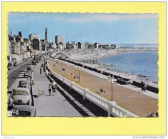 CPA 76 LE HAVRE Boulevard Albert 1er Et La Plage ( Vieilles Auto 2cv Citröen ) - Le Havre
