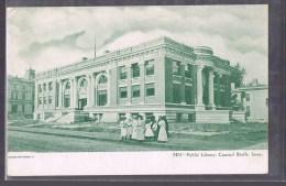 Bibliothèque Municipale Bluffs De Conseil LOWA . - Autres