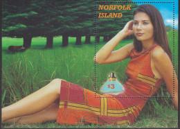 NORFOLK Is, 2001 FRAGRANCES MINISHEET MNH - Ile Norfolk