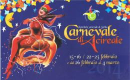 Acireale-Il Più Bel Carnevale Di Sicilia-Carnevale Estivo Agosto 2014-Carnival Karnaval- - Acireale