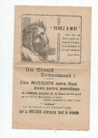 Publicité , Religion , Paroisse De L´ABSIE , Mission , 4 Pages , 1945 - Advertising