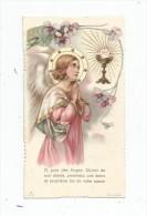 Image Pieuse , Image Religieuse , Communion , église De L'ABSIE , 1935 , Dentelée - Images Religieuses