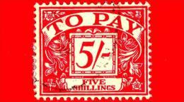 GB  UK GRAN BRETAGNA - Usato - 1961 - Segnatasse - To Pay - POSTAGE DUE STAMPS - 5 - Tasse