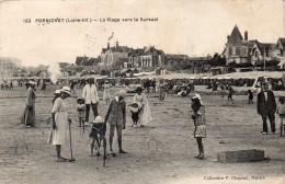PORNICHET-LA PLAGE VERS LE KURSAAL - Pornichet