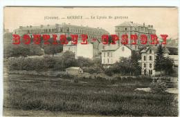 ACHAT DIRECT < 23 - GUERET - LYCEE De GARCONS Et VILLAS - DOS SCANNE - Guéret