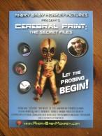 Alien UFO Carte Postale - Advertising