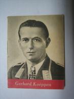 WHW-Reichsstrassensammlung, Tag Der Wehrmacht, RKT Gerhard Koeppen,  Tieste 548 - 1939-45