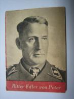 WHW-Reichsstrassensammlung, Tag Der Wehrm. RKT Ritter Edler Von Peter,   Tieste 553 - 1939-45