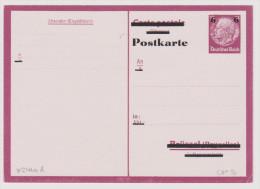 DR Ganzsache Mi# P 244 AA Ungebraucht - Deutschland