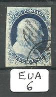 EUA Scott   9 Type IV Black Grill And ETATS-UNIS Cancels Very Fine YT 3 ( ? ) # - Used Stamps