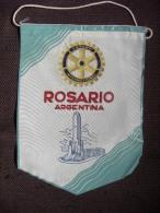 VINTAGE FANION:    ROSARIO.   (ARGENTINA).  -   ROTARY  INTERNATIONAL. - Organisations