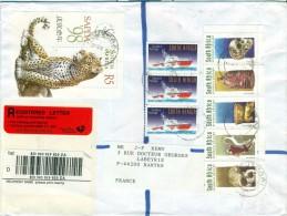 Afrique Du Sud South Africa 20 July 1998 Houtbay Cape Town Registered Cover Lettre Recommandée Sans Valeur NVI Sapda - Afrique Du Sud (1961-...)