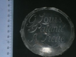 HORLOGERIE - Centre De Cadran D'horloge En étain Gravé Au Nom De G.LOUIS PATANTE A LIEGE - - Juwelen & Horloges